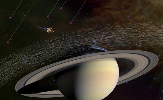 Tàu thăm dò sao Thổ kết thúc sứ mệnh