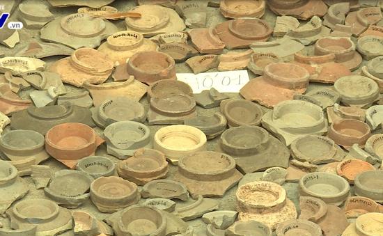 Phát hiện nhiều hiện vật gốm Chămpa cổ tại Bình Định