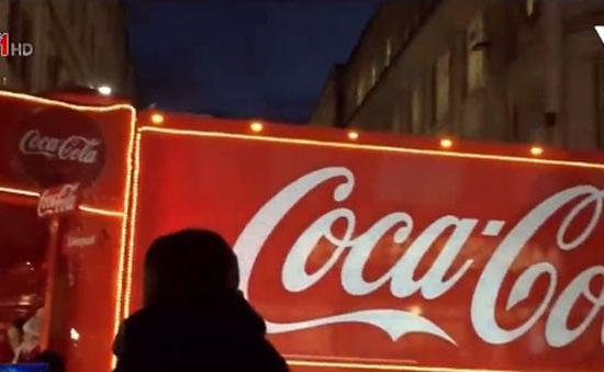 Kêu gọi cấm xe tải Giáng sinh Coca Cola tại Anh để chống béo phì