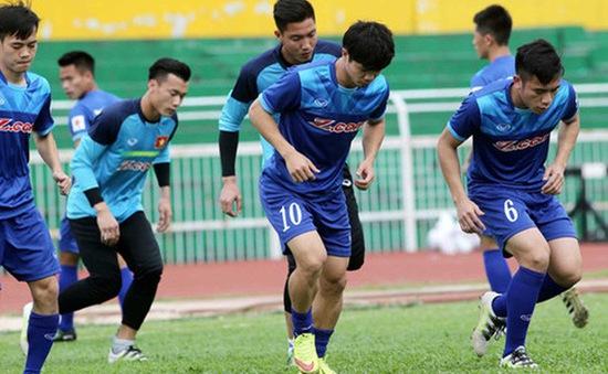 VIDEO: ĐT U23 Việt Nam trở lại luyện tập sau 2 ngày nghỉ