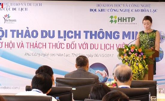 Hội thảo phát triển du lịch thông minh