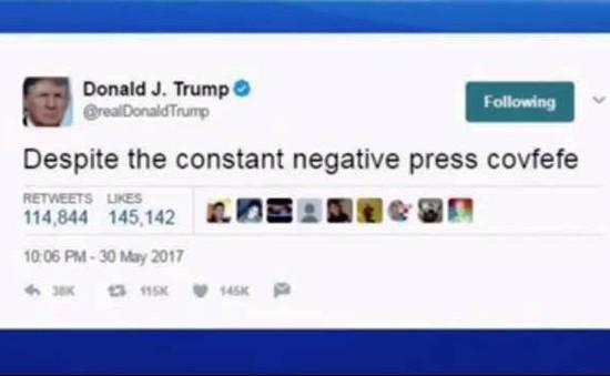 Đoạn Tweet gây tranh cãi thú vị của Tổng thống Donald Trump