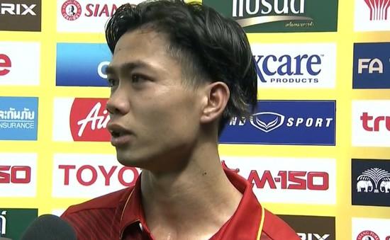 Công Phượng trả lời phỏng vấn bằng tiếng Anh sau chiến thắng trước U23 Thái Lan