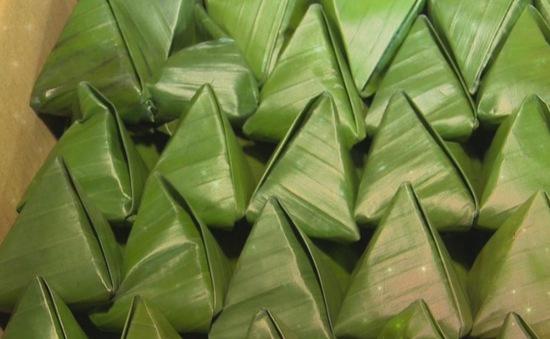 Ngọt ngào bánh ít lá gai Tuy Phước, Bình Định