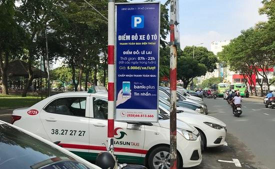 Ứng dụng thu phí đỗ xe My Parking chưa thu hút người dùng