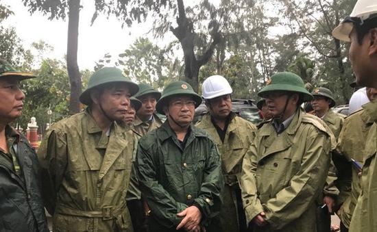 PTTg Trịnh Đình Dũng: Cần tổ chức tốt công tác khắc phục hậu quả của bão số 12