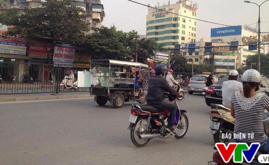 Hà Nội: Hơn 4.000 xe 3 bánh tự chế sẽ bị tịch thu