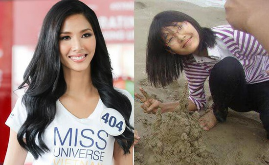 """Loạt ảnh """"dậy thì thành công"""" của người đẹp Hoa hậu Hoàn vũ Việt Nam 2017"""
