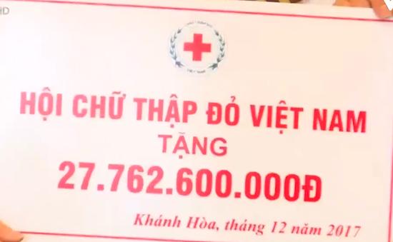 Hội Chữ thập đỏ Việt Nam hỗ trợ 30 tỷ đồng khắc phục lũ lụt