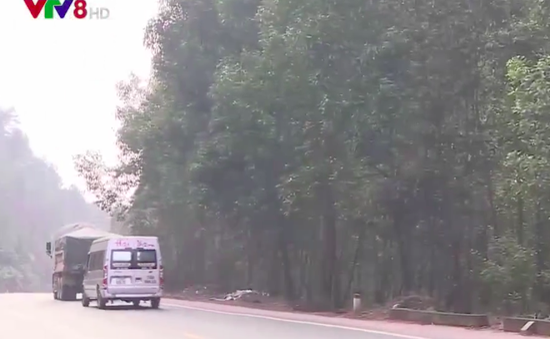 Vi phạm lộ giới giao thông tuyến tránh Thừa Thiên - Huế