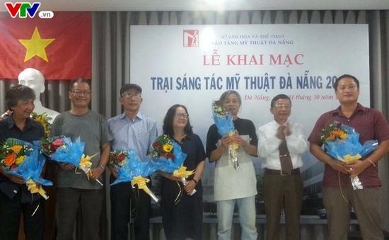 Khai mạc Trại sáng tác mỹ thuật Đà Nẵng 2017