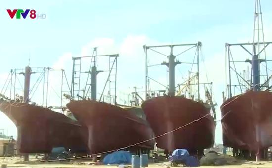 Bình Định: Chưa đạt được thỏa thuận hỗ trợ cho ngư dân có tàu vỏ thép bị hư hỏng
