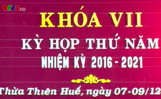 HĐND tỉnh Thừa Thiên Huế thông qua 16 Nghị quyết