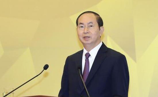 Chủ tịch nước Trần Đại Quang: Những thành tựu đạt được trong năm 2017 là tiền đề để đất nước phát triển bền vững