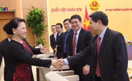 Chủ tịch Quốc hội gặp mặt Trưởng các cơ quan đại diện ngoại giao tại nước ngoài