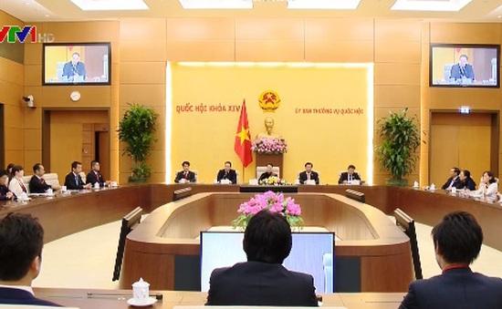 Chủ tịch Quốc hội tiếp đoàn nghị sỹ trẻ Nhật Bản