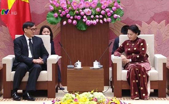 Chủ tịch Quốc hội tiếp Đại sứ Thái Lan