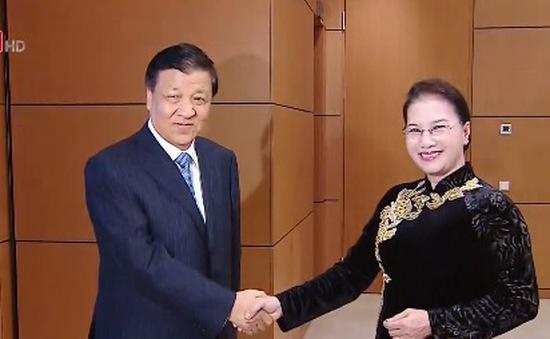 Chủ tịch Quốc hội tiếp Đoàn đại biểu Đảng Cộng sản Trung Quốc