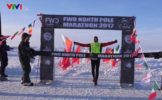 Độc đáo cuộc thi chinh phục đường đua lạnh nhất thế giới