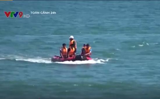 Quảng Ngãi: Một người đàn ông tắm biển bị mất tích