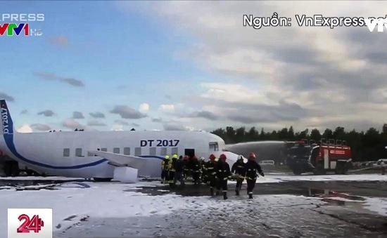 Diễn tập cứu nạn máy bay phát nổ tại sân bay Đà Nẵng