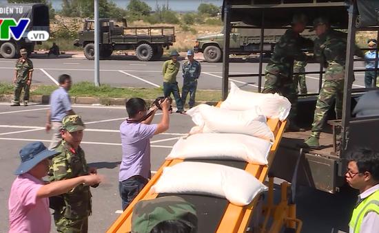 Phân bổ 40 tấn hàng do Nga viện trợ cho Phú Yên, Khánh Hòa