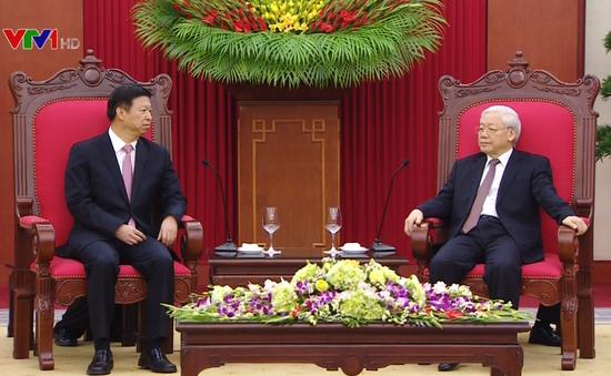Tổng Bí thư tiếp Đặc phái viên của Tổng Bí thư Trung Quốc