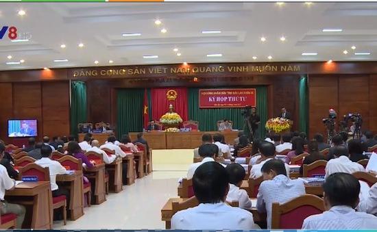 Kỳ họp thứ 4 HĐND tỉnh Đăk Lăk khóa IX:  Thông qua 12 Nghị quyết quan trọng