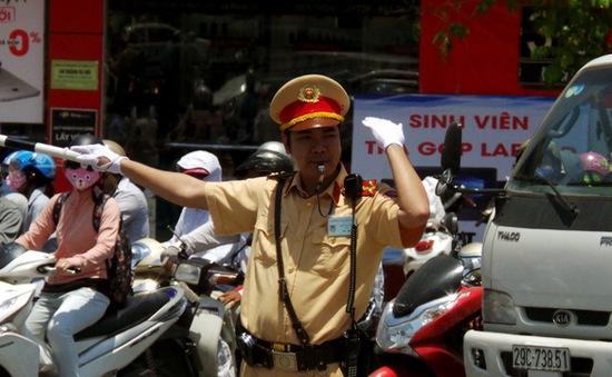 Hà Nội tăng cường đảm bảo trật tự giao thông ngày khai giảng