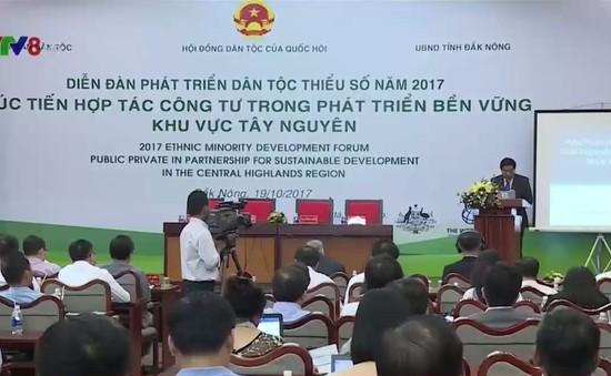Xúc tiến hợp tác công tư trong phát triển dân tộc thiểu số vùng Tây Nguyên