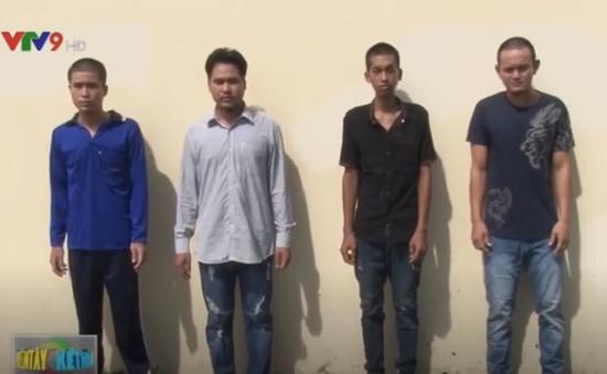 Bắt giam 4 đối tượng hành hung người gây thương tích nặng