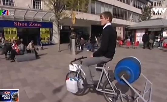 Spincycle - Xe đạp tập thể hình kiêm giặt quần áo
