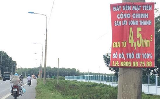 Giá đất khu vực sân bay Long Thành tăng cao phi mã