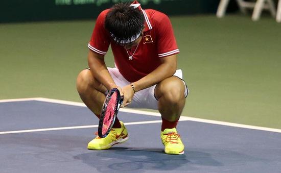Davis Cup: Hoàng Thiên thất bại trong trận đấu quyết định
