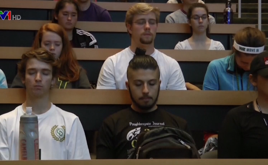 Trường đại học tại Mỹ dạy thiền cho sinh viên