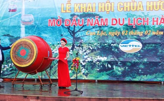 Hà Tĩnh khai hội chùa Hương Tích