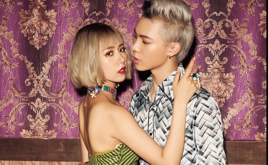 "Min và Erik ""lột xác"" trong MV Ghen"