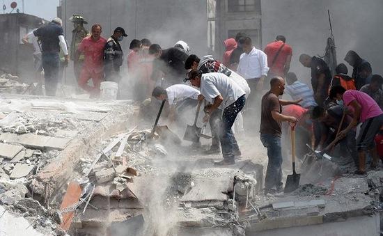 12 người thương vong trong 2 trận động đất mới tại Mexico