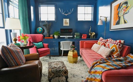 """Ngồn ngộn đồ đạc song những căn phòng này vẫn thật """"chất chơi"""""""