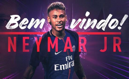 Neymar CHÍNH THỨC gia nhập PSG, phá sâu kỷ lục chuyển nhượng