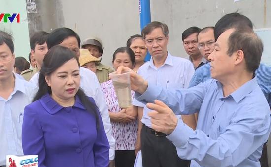 Bộ trưởng Bộ Y tế kiểm tra phòng dịch sốt xuất huyết tại TP.HCM