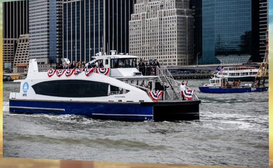 Dịch vụ phà mới tại New York (Mỹ) chính thức hoạt động từ 1/5
