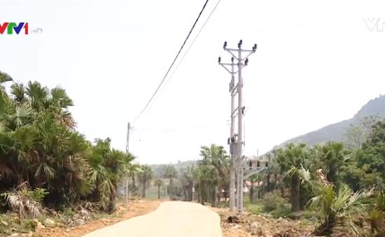 Đưa điện về thôn bản vùng cao Thái Nguyên