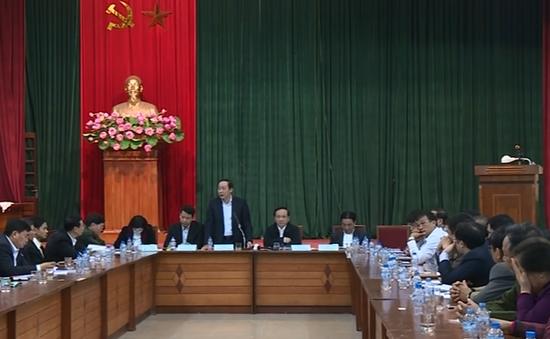 Hà Nội đối thoại với các nhà xe về việc điều chuyển luồng tuyến