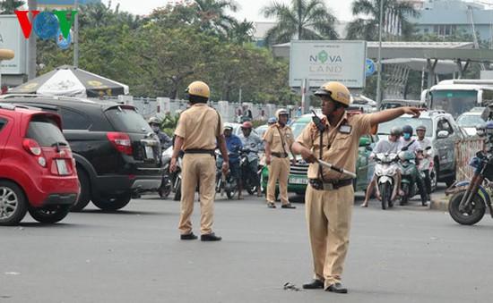 Ngày 8/8, cấm xe trên nhiều tuyến đường ở TP.HCM