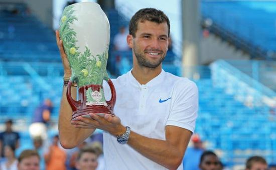 Grigor Dimitrov lần đầu vô địch Cincinnati mở rộng