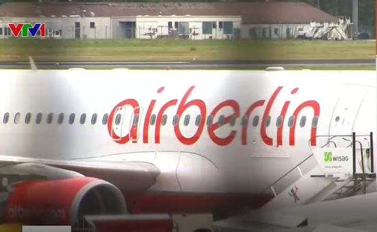 Air Berlin hủy 100 chuyến bay vì các phi công cáo ốm