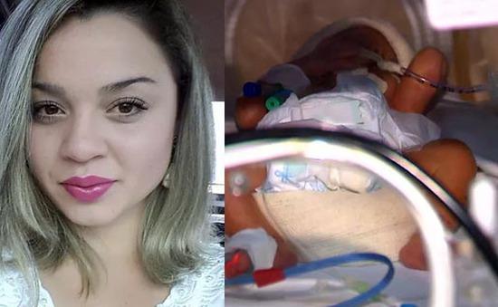 Video cặp song sinh chào đời từ mẹ chết não thu hút 13 triệu lượt xem