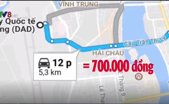 Du khách Hàn Quốc đi taxi ở Đà Nẵng bị thổi giá gấp 10 lần