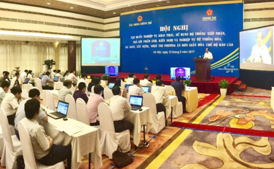 Văn phòng Chính phủ tập huấn xử lý các kiến nghị của người dân và doanh nghiệp